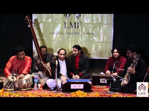 bukhsh - The renowned Ustad Hussain Bukhsh Khan performs Raag Rajeshwari at the 12th LMF Monthly concert on 3rd February 2012 held at the National College of Arts (NC...