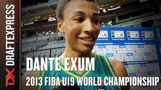 Dante Exum Interview at the 2013 FIBA U19 World Championship in Prague