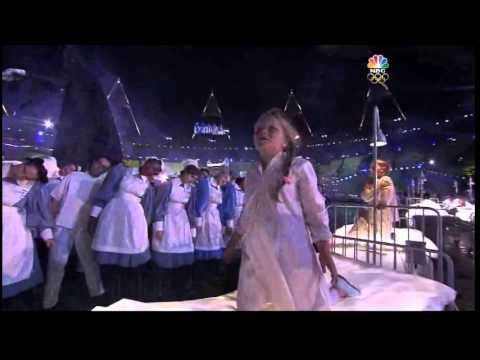 Opening ''Olympic Games London 2012'' - Mike Oldfield Section