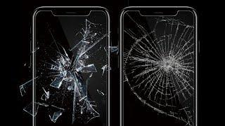 Сравнение защитных стекол на iPhone 8 и iPhone X [ПЕРЕЗАЛИТО В HD]