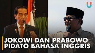Video Gaya Pidato Bahasa Inggris Jokowi VS Prabowo MP3, 3GP, MP4, WEBM, AVI, FLV Januari 2019