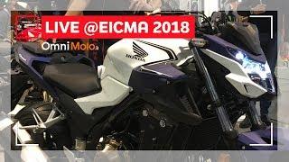 Honda CB 500 X e CB500 F | EICMA 2018