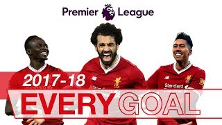 Video Salah, Mane & Firmino | Every Premier League Goal 2017-18 MP3, 3GP, MP4, WEBM, AVI, FLV Maret 2019