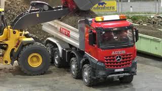 RC Truck Action! Trucks & Construction Fun on a amazing Parcours @ Messe Graz 2018