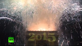 Breathtaking New Year Fireworks: France, Brazil, Turkey & Hong Kong welcome 2015