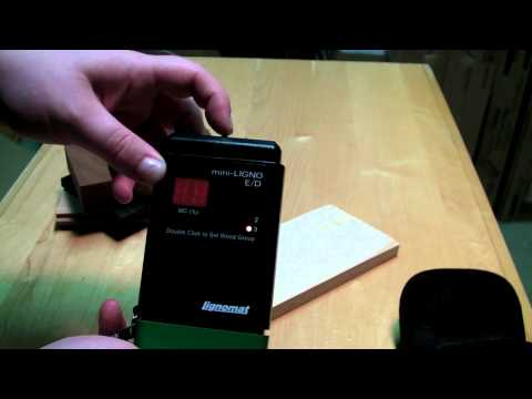 Mini-Ligno E/D Moisture Meter