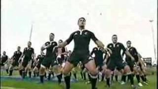Pacific Nations Cup 2008 New Zealand Maori V Tonga Haka.