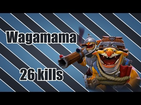 Wagamama - Techies 26 kills | Dota 2 Gameplay