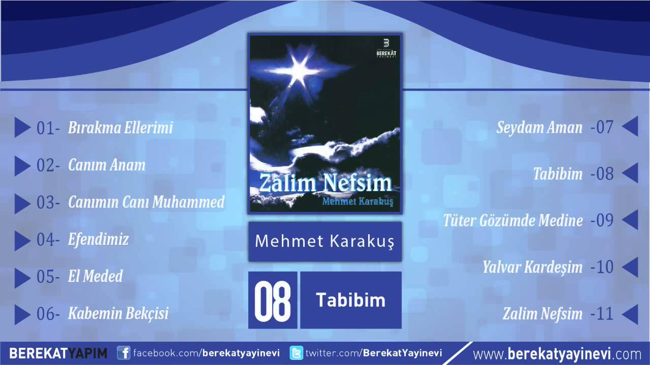 Mehmet Karakuş – Tabibim Sözleri