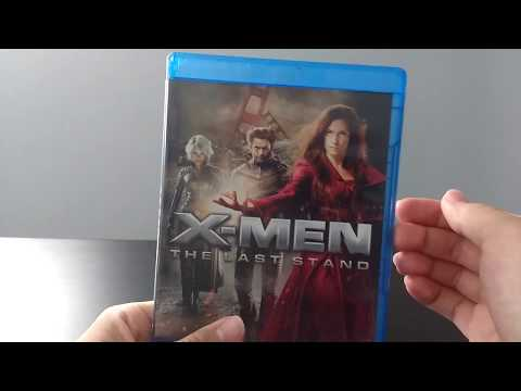 X-Men: The Last Stand 2 Disc Blu-Ray Unboxing (One Shot)