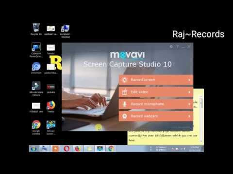 Movavi Screen Capture Studio Review and Tutorial in HINDI