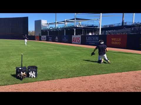 Yankees' Chance Adams, Justus Sheffield throw