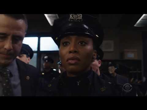 Blue Bloods 9x17 Officer Edit Janko partner gets arrested