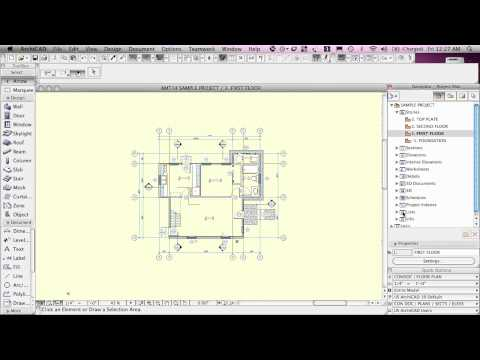 ArchiCAD Basic Training Lesson 1 | QuickStart Course Overview [UPDATED version link see description]
