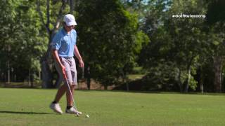 New standard to determine if you caused your ball to move. To learn more about Modernizing Golf's Rules, visit www.usga.org/golfrules2019.