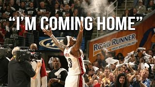 "LeBron James - ""I'm Coming Home"" ᴴᴰ"