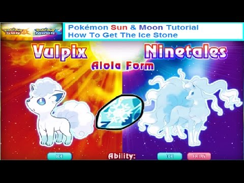Pokémon Sun And Moon Tutorial How To Get The Ice Stone