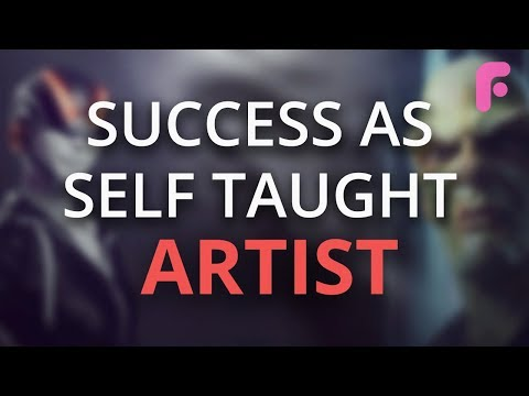 How to Be Successful as a Self-Taught Artist