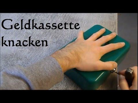 how to: Geldkassette knacken - mini Tresor knacken geldkassette ohne schlüssel öffnen