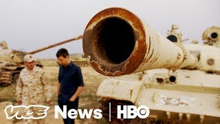 Six years after Muammar Gaddafi's fall in 2011, fighting between rival government and militias has plunged Libya into anarchy, ...