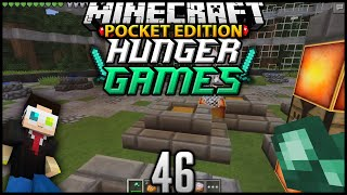 Minecraft POCKET EDITION Hunger Games Ep 46: ACE IS CREEPY (MCPE Survival Games)