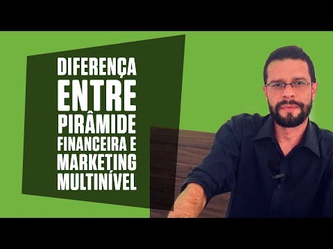 Sistema de vendas diretas e marketing multinível Maxnivel - Diferença entre Marketing Multinível e Pirâmide Financeira