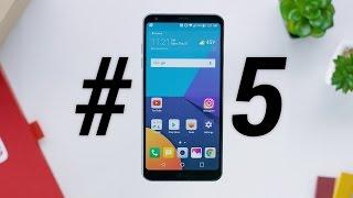 Top 5 LG G6 Features!, tin công nghệ, công nghệ mới, công nghệ số