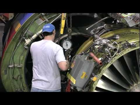 Southwest Airlines 737 Engine Swap