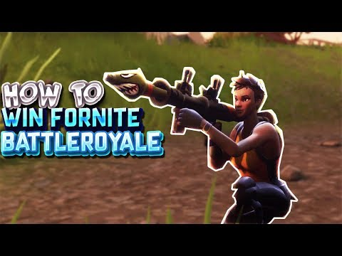 How To Win Fortnite Battle Royale (4HP!!)