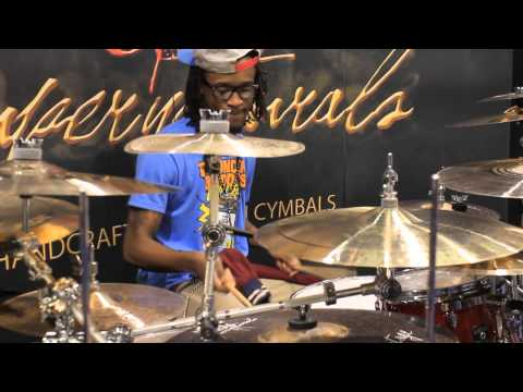 Namm 2013 Supernatural Cymbals Sean Wright