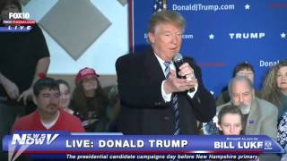 Londonderry (NH) United States  city photo : FNN: Donald Trump Speaks in Londonderry Day Before New Hampshire Primary