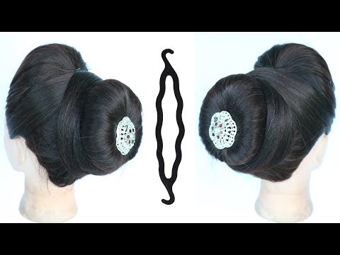 Easy And Simple Juda Hairstyle With Using Magic Hair Lock