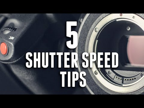 5 Shutter Speed Tips For Video
