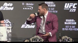 Video Conor McGregor Explodes Asking If Khabib Is Disrespecting Vladimir Putin? (UFC 229) MP3, 3GP, MP4, WEBM, AVI, FLV Oktober 2018