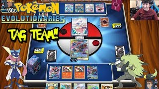 Pokemon Online! Greninja & Zoroark Tag Team Deck Profile & Battles!! by The Pokémon Evolutionaries