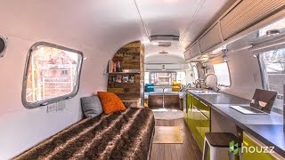 Man Turns  70s Airstream Into A Cool  Happy Home
