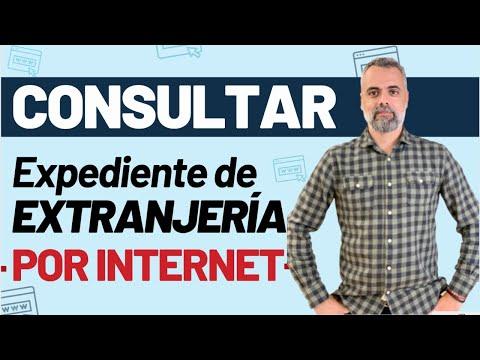 Cómo consultar el estado del expediente de extranjería por internet