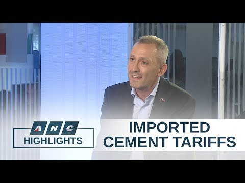 European Chamber of Commerce PH welcomes higher duties on imported cement