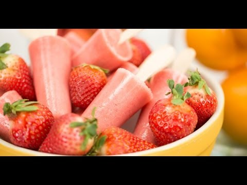 Strawberry Orange Yogurt Pops – Blendtec Recipes