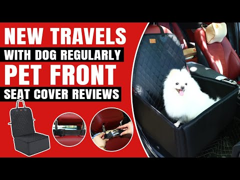 Travel With Dog|Car Seat Covers for Dogs|Pettom Dog Car Cover front Seat|Best Car Dog Seat Review