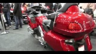1. 2013 Honda GL1800AD Gold Wing Airbag