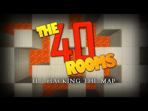 Minecraft | HACK THE MAP | The 40 Rooms | Rooms 11 – 24 (Minecraft Puzzle Map)
