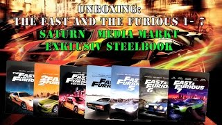 Nonton Unboxing - The Fast and the furious 1 - 7 - Media Markt exklusiv Steelbook Film Subtitle Indonesia Streaming Movie Download