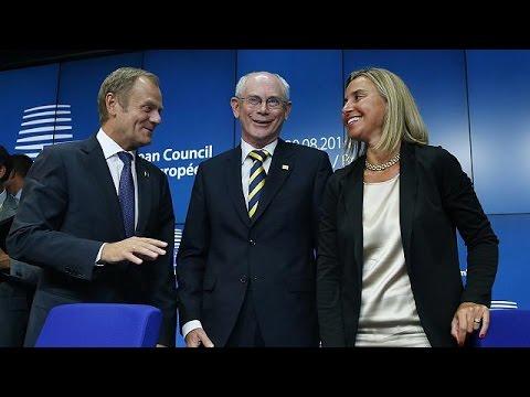 il - Alla fine il compromesso è stato trovato. I 28 leader europei riunitisi a Bruxelles hanno dato l'ok alla nomina di Donald Tusk alla Presidenza del Consiglio europeo e di Federica Mogherini...