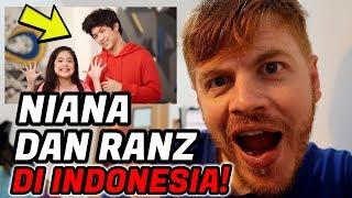 Video NIANA DAN RANZ DI INDONESIA!!! YOUTUBER GOKIL (Reaction Video) MP3, 3GP, MP4, WEBM, AVI, FLV Agustus 2017