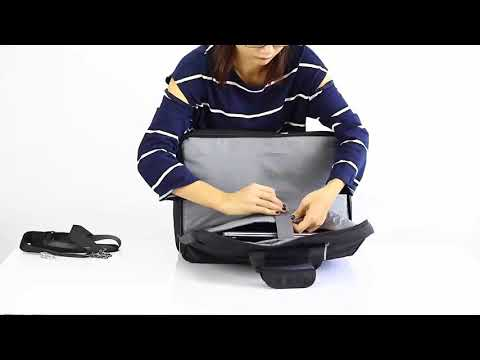 CoolBELL Multi-function Convertible Laptop Messenger Computer Bag Single-shoulder Backpack