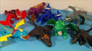 Video 2010 HOW to TRAIN YOUR DRAGON SET OF 8 McDONALD'S HAPPY MEAL MOVIE TOY'S VIDEO REVIEW MP3, 3GP, MP4, WEBM, AVI, FLV Desember 2018