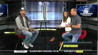 Sports Desk Exclusive Interviews On Allen Iverson (2014) *15 Minutes