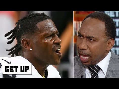 Stephen A s Antonio Brown rant He s a disgrace incredibly selfish and should be ashamed Get Up