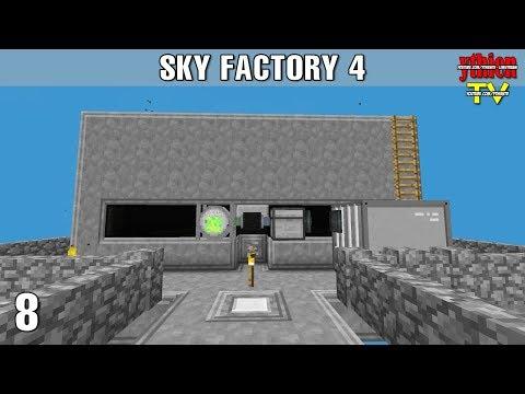 Sky Factory 4 08 - Xây Dựng Mob Farm - Thời lượng: 30 phút.